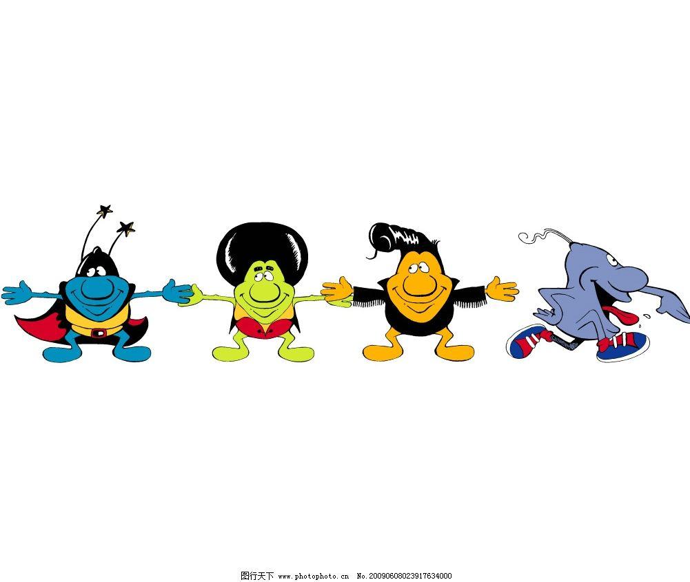 卡通人物 动画形象 卡通造型 可爱矢量图 文化艺术 矢量人物 其他人物
