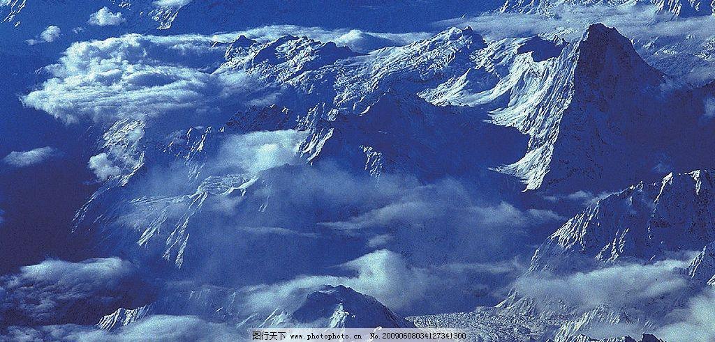 喜马拉雅山 雪山 旅游摄影 自然风景 摄影图库