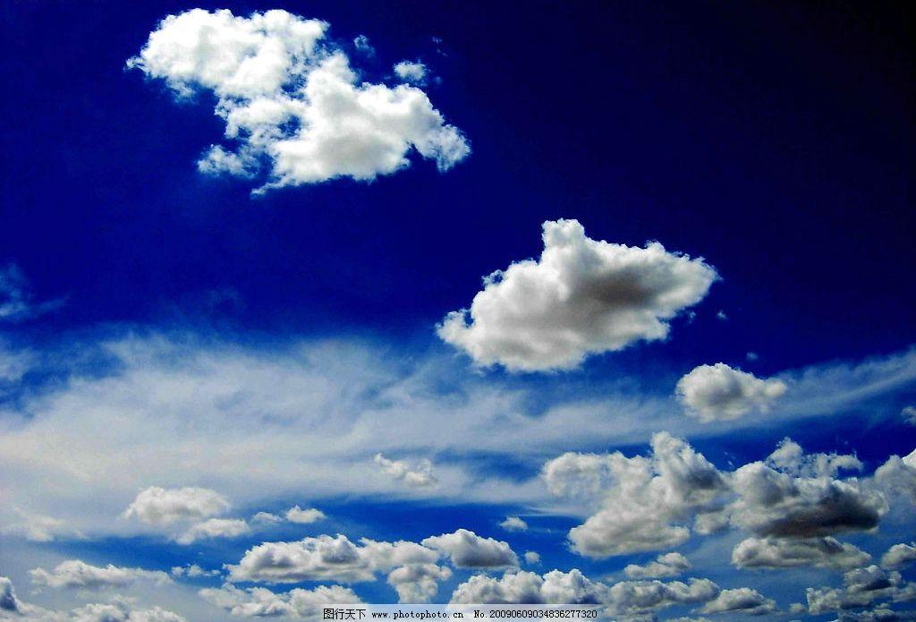大自然 景观 景象 天空 云彩 蓝天 云层 云朵 自然景观 自然风景 摄影