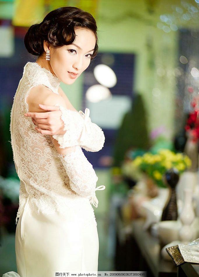 婚纱照 实景 单人婚纱摄影 美女 新娘 人物图库 人物摄影 摄影图库