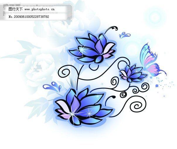 欧美免费下载 花纹 矢量图 矢量花纹矢量花边底纹边框 花纹素材花边素