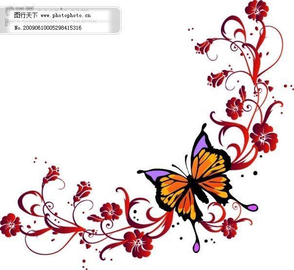 欧美花纹免费下载 花纹 矢量图 花纹 矢量图 矢量花纹|矢量花边|底纹