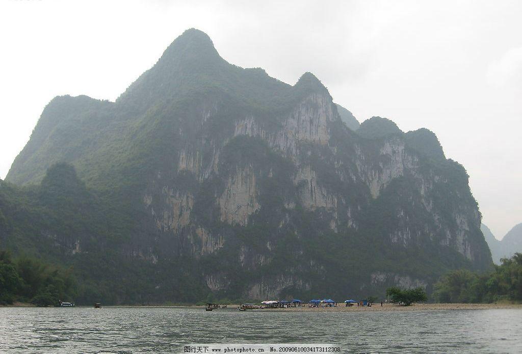 桂林九马画山 桂林山水 漓江 九马画山 旅游摄影 自然风景 摄影图库
