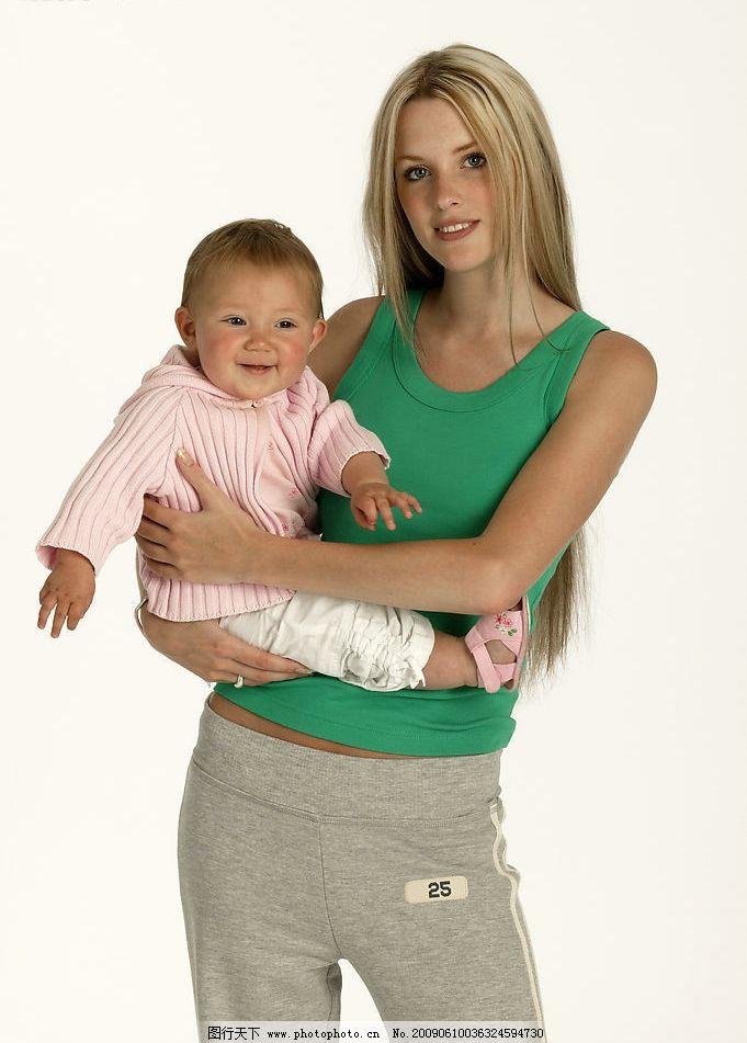 人物 大人 小孩 抱小孩 母亲与孩子 可爱的小宝宝 人物图库 人物摄影