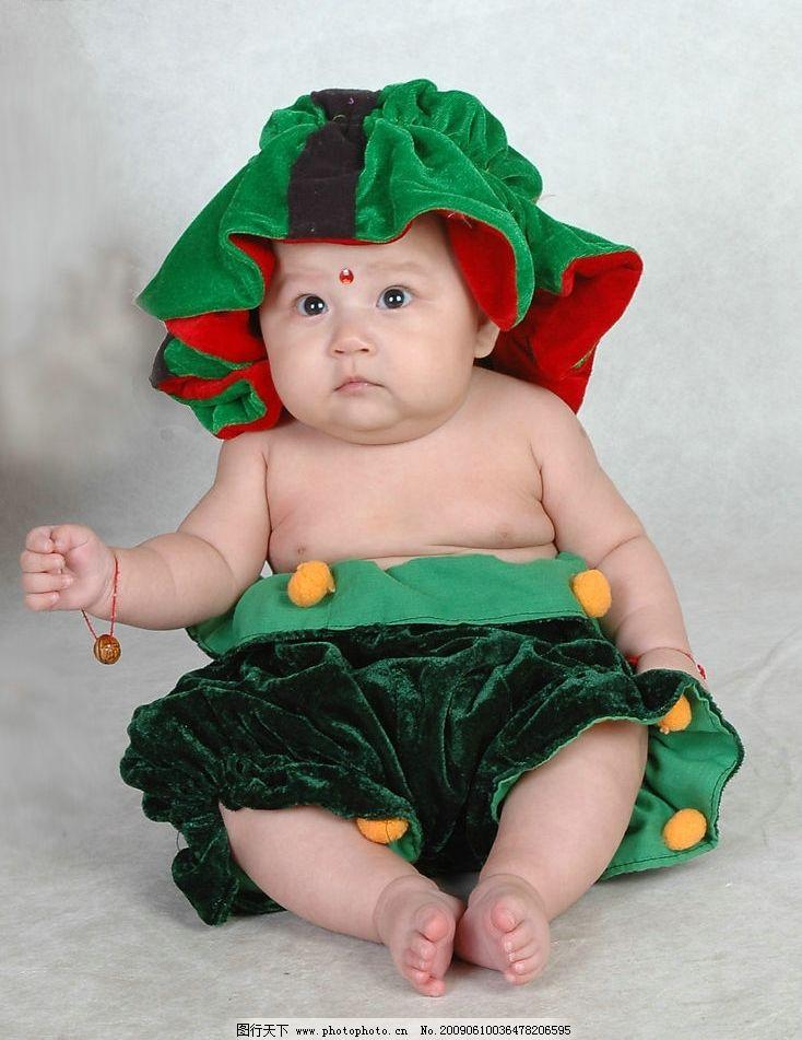 宝宝百天照片 儿童摄影 可爱的小宝宝 宝宝 百天 人物图库 儿童幼儿