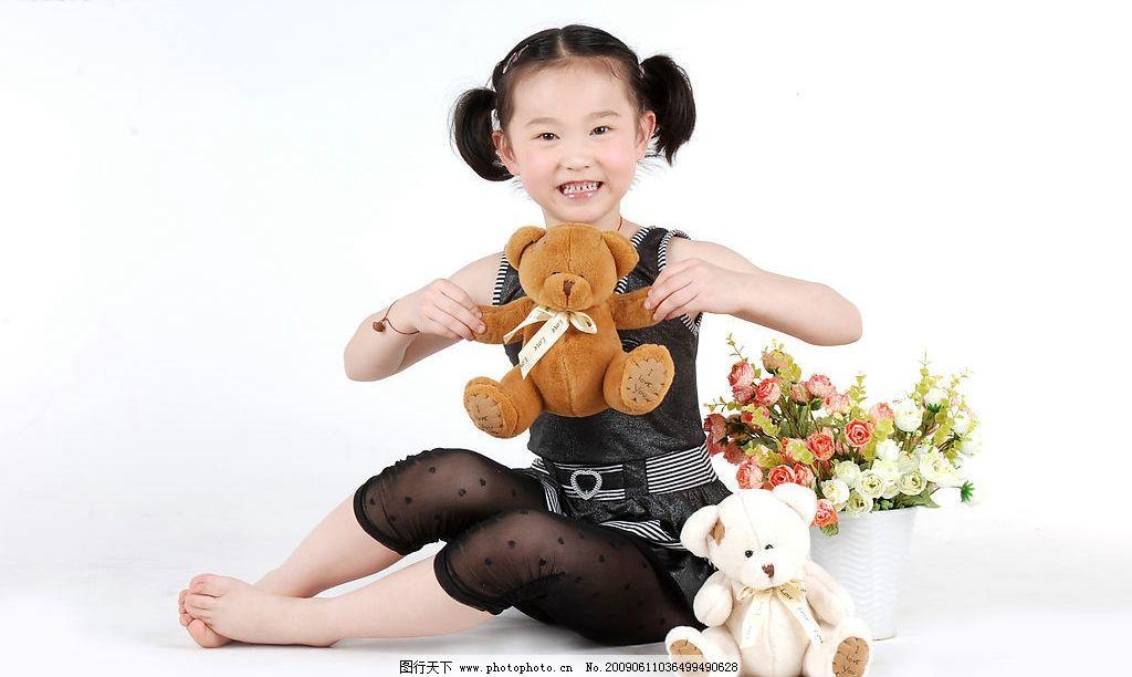 a8儿童摄影 璐楠 小女孩 微笑 可爱 孩子 小公主 时尚 小熊