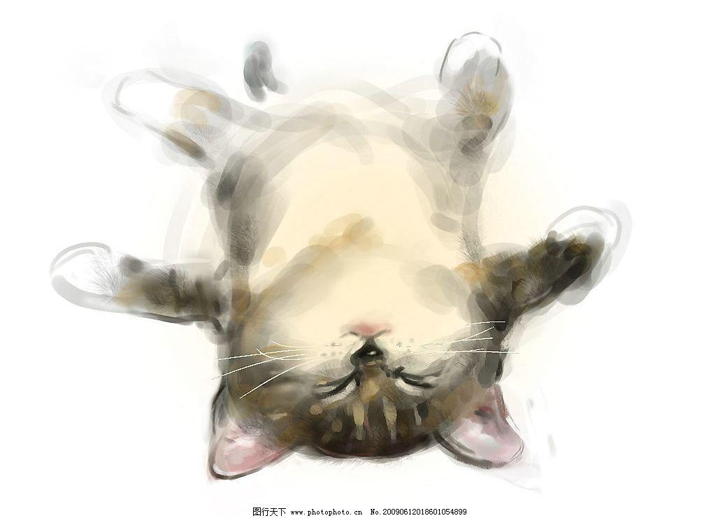 cg手绘可爱猫猫图片