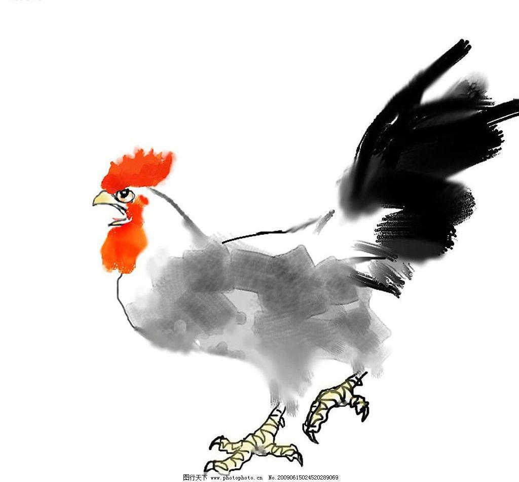 素描 生物世界 家禽家畜