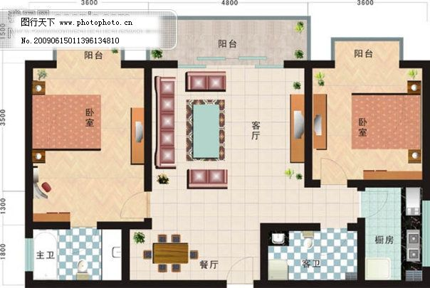 矢量素材 矢量图 室内设计矢量图        户型图 房产户型图 房屋平面