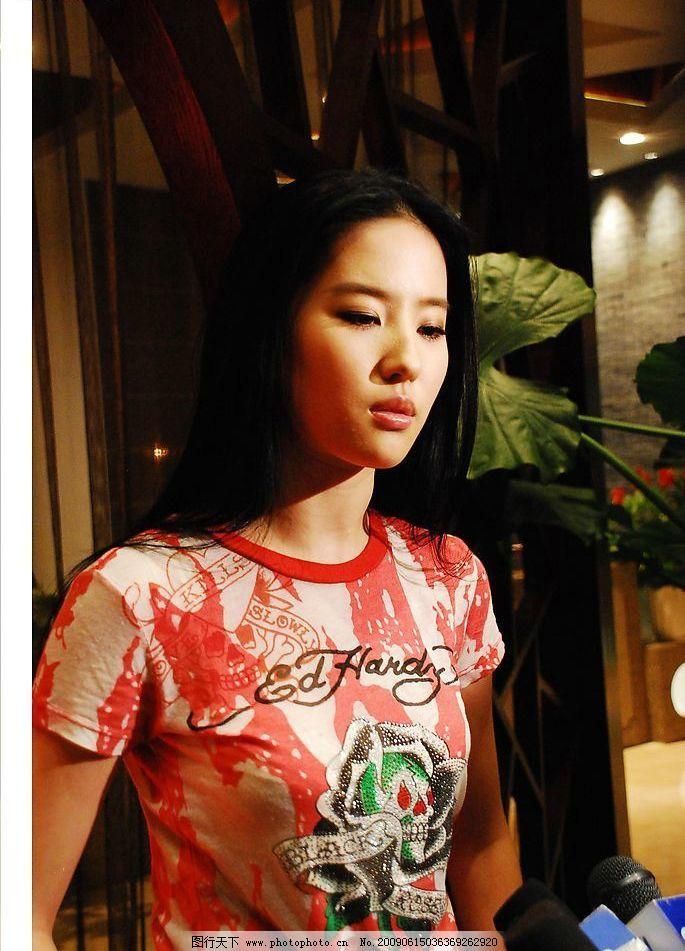 刘亦菲 小龙女 苏州吴中 代言太湖 采访 太湖 宣传片 人物图库 明星
