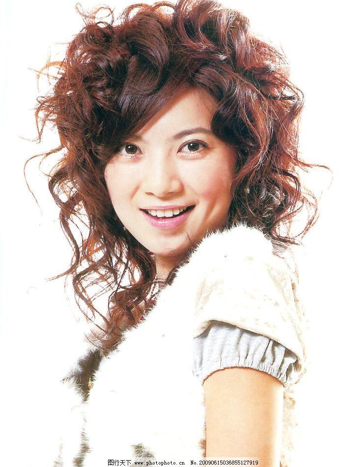 发型 最新发型 美发 烫发 染发 人物图库 女性女人 摄影图库图片