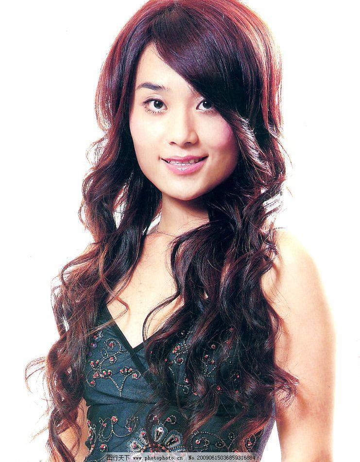 发型 最新发型 美发 烫发 染发 人物图库 女性女人 摄影图库 300dpi图片