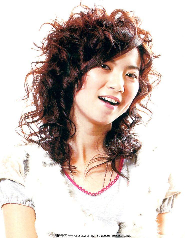 发型 最新发型 美发 烫发 染发 人物图库 女性女人 摄影图库 300dpi