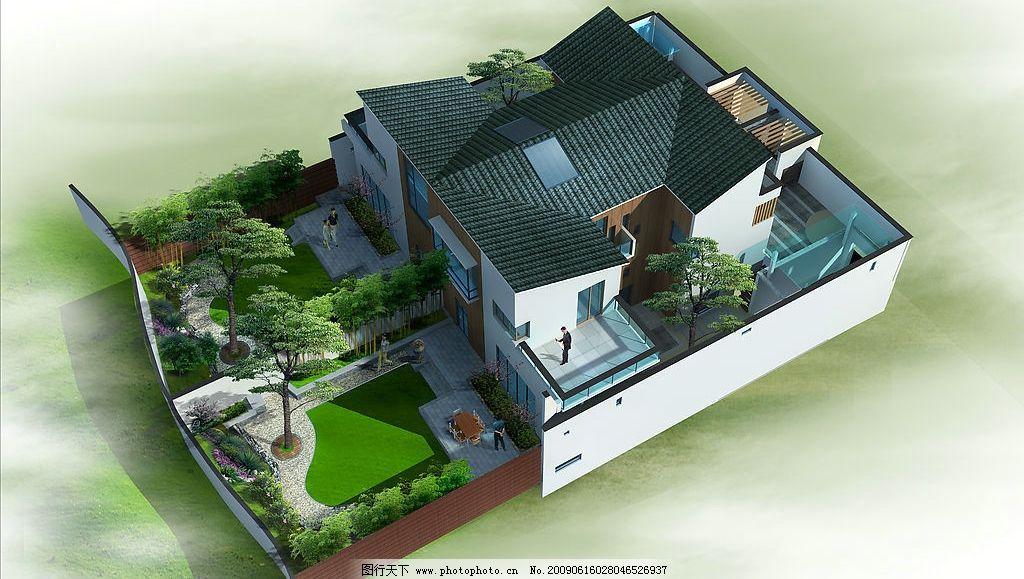 中式 别墅图片