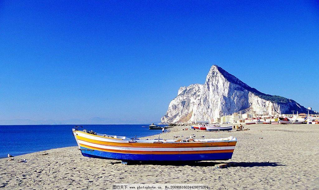 海滩风光图片_山水风景