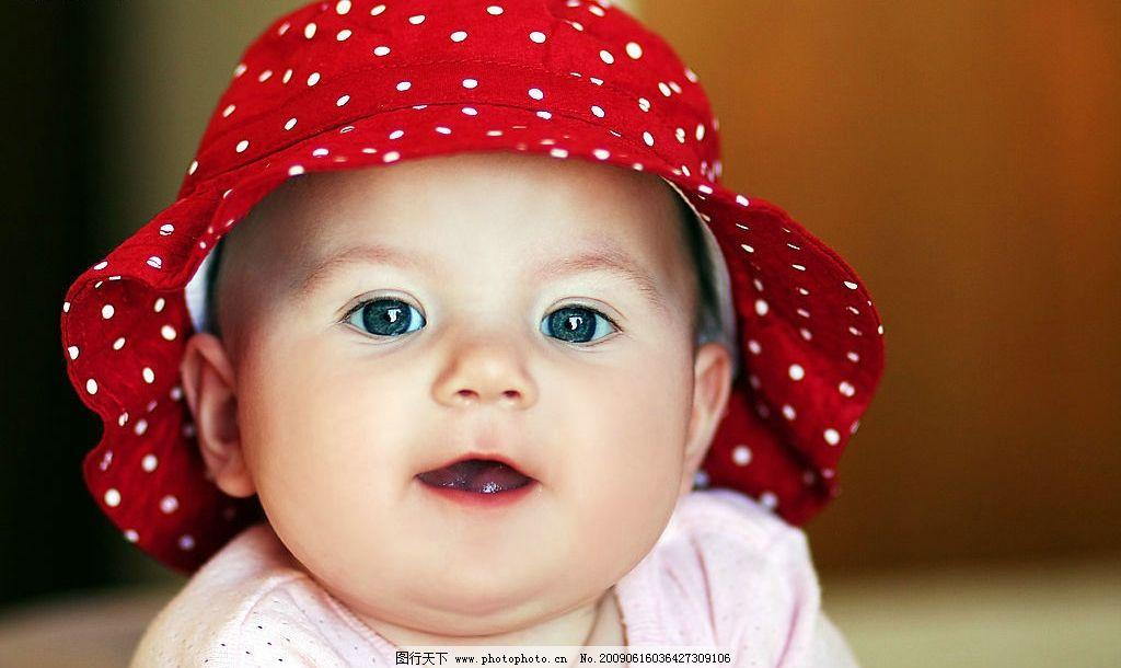 宝宝 幼儿 婴儿 孩子 baby 脸部 可爱 帽子 人物图库 儿童幼儿 摄影