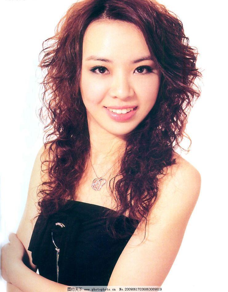 美发 发型 最新发型 烫发 染发 人物图库 女性女人 摄影图库
