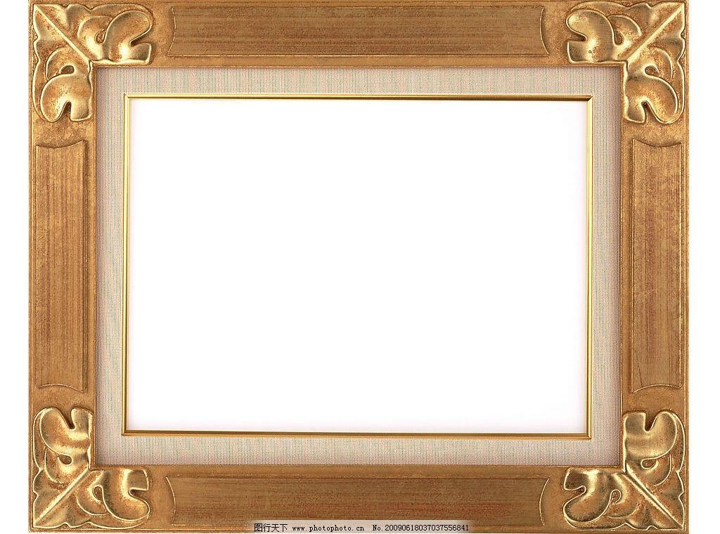 相框 工艺 花边 构造 广告素材大辞典 典雅边框 典雅 古典 精致 绘画