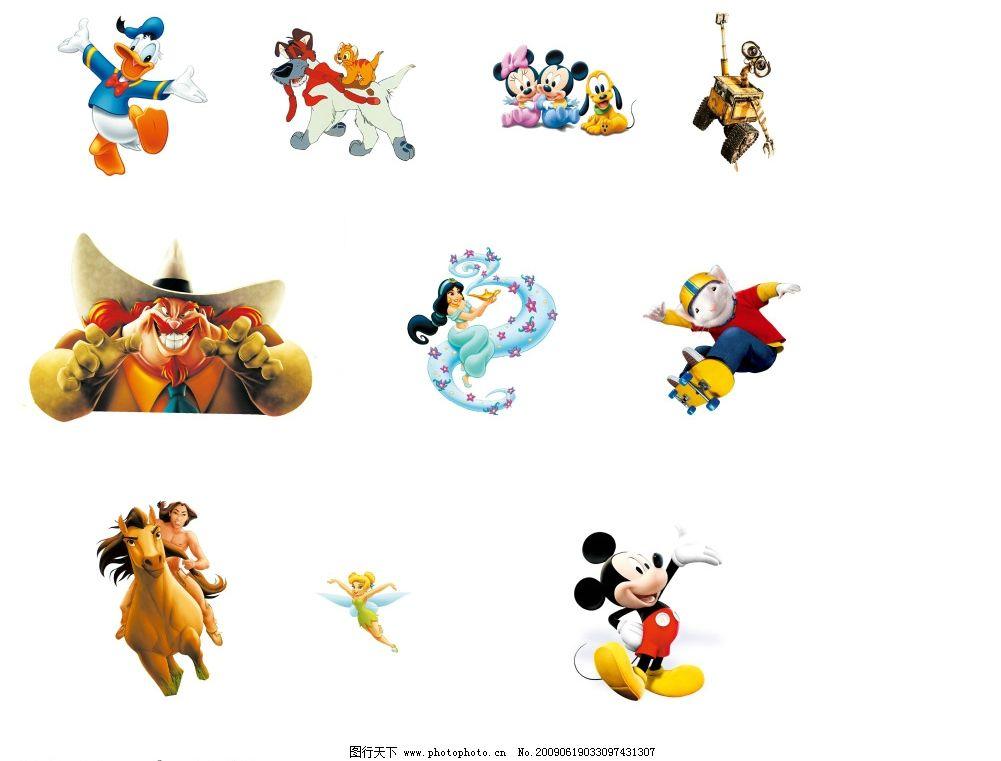 迪士尼卡通人物图片