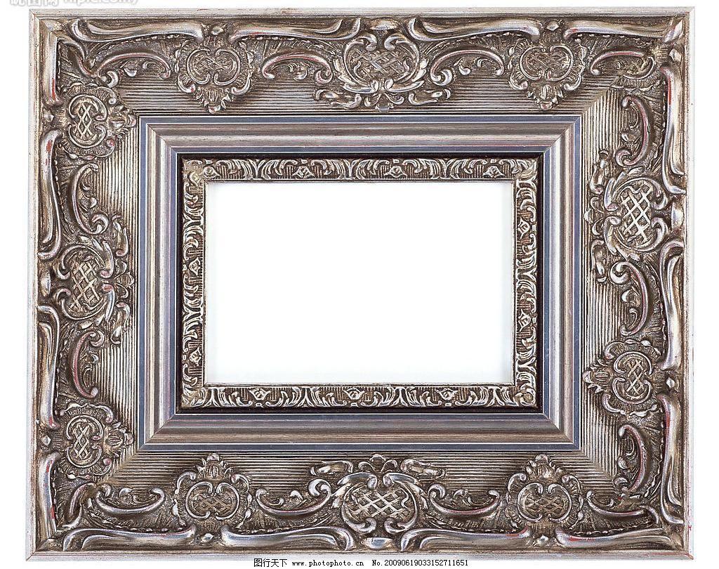 方形 工艺 古典 油画框 边框 画框 相框 工艺 花边图片素材下载 花边