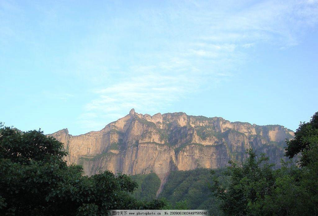 悬崖开路 悬崖 路 山路 风景 山水 自然景观 山水风景 摄影图库 72dpi