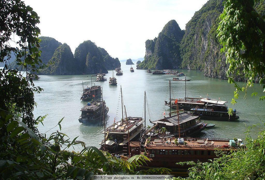 越南下龙湾风光图片_山水风景_自然景观_图行天下图库