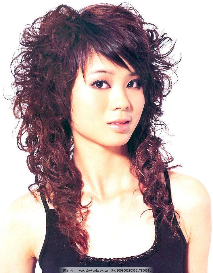美发 发型 最新发型 烫发 染发 人物图库 女性女人 摄影图库图片