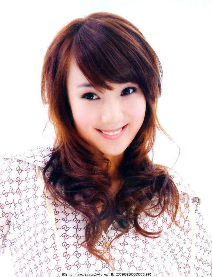 美发 发型 最新发型 烫发 染发 人物图库 女性女人 摄影图库 300dpi j