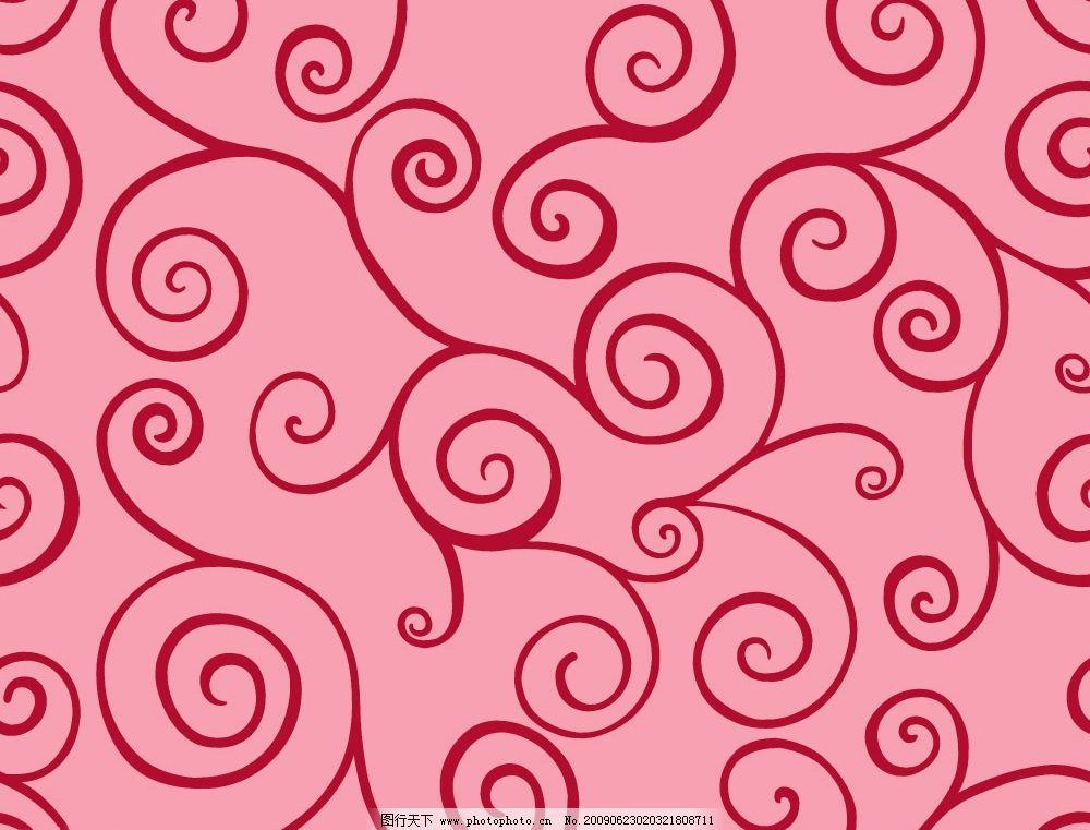 底纹 花纹 红色 古典 底纹边框