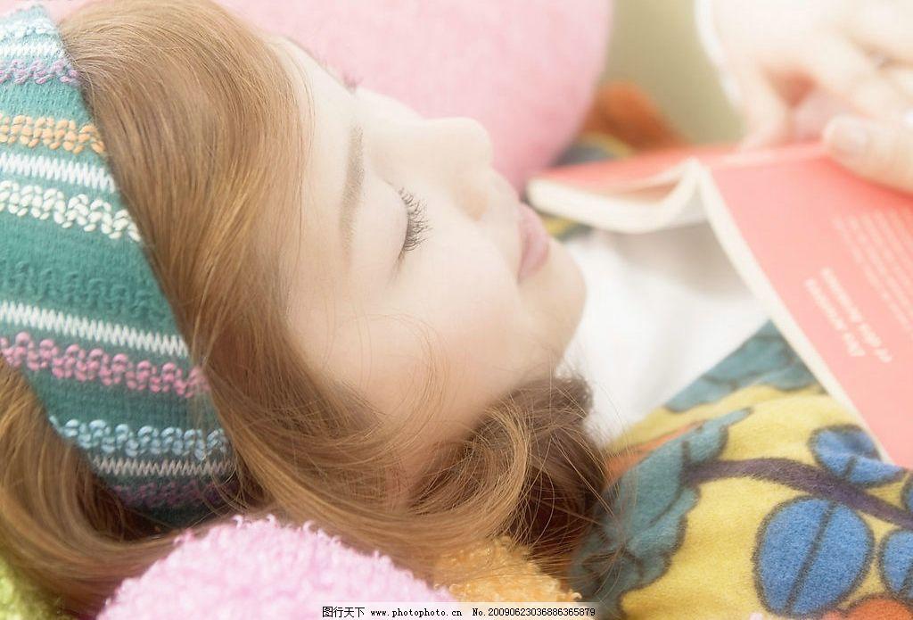 美女睡觉 可爱美女 美女模特 美女 女人 美丽 性感 可爱 小女人 漂亮