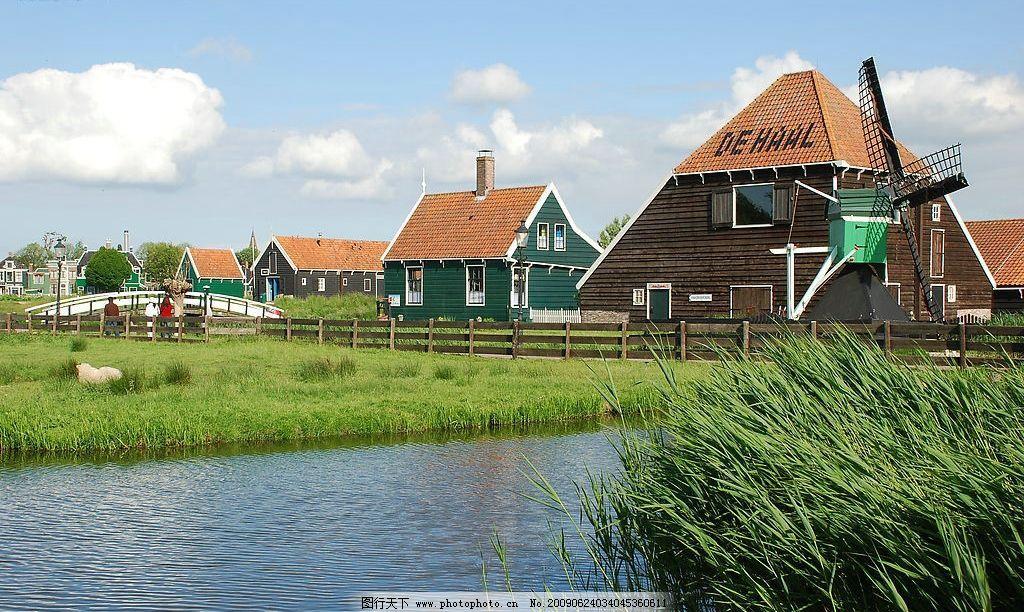 欧洲小镇 欧洲风景 旅游摄影 国外旅游 摄影图库 300dpi jpg