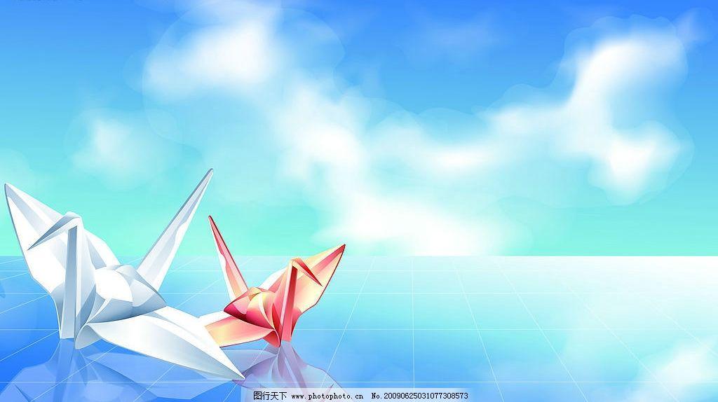 千纸鹤图片图片