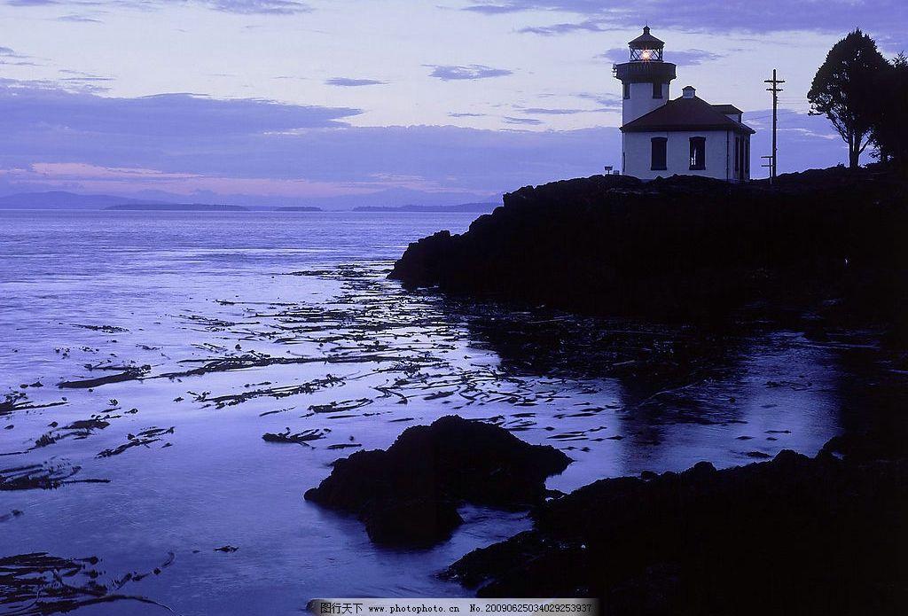 圣璜群岛石灰窑点州立公园灯塔图片