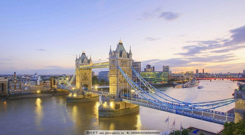 英国伦敦塔桥图片