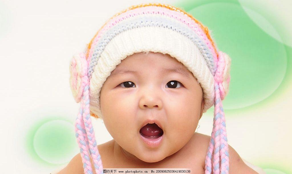 宝宝百日 可爱的小宝宝 儿童摄影 可爱      人物图库 儿童幼儿 摄影