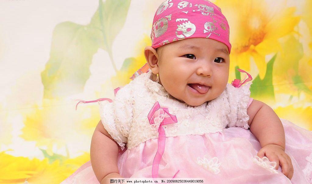 宝宝 可爱的小宝宝 儿童摄影 百天 人物图库 儿童幼儿 摄影图库 300