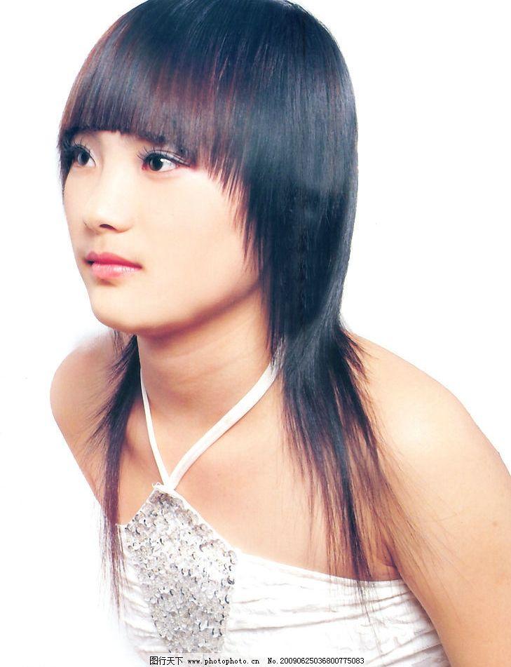 美发 发型 最新发型 烫发 染发 人物图库 女性女人 摄影图库 300dpi