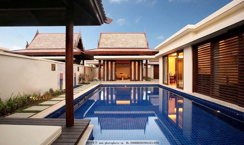 三亚铂尔曼度假酒店别墅泳池图片,其他 图片素材 摄影