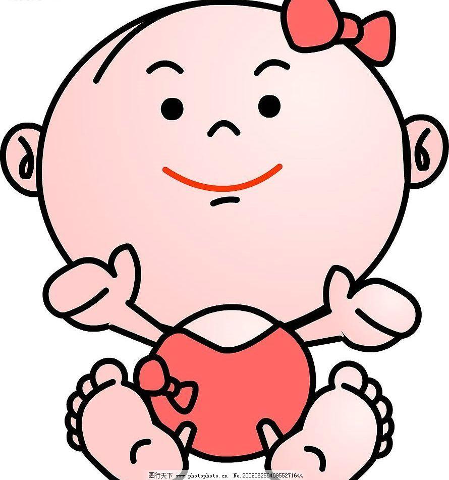 可爱女宝宝图片_动画素材