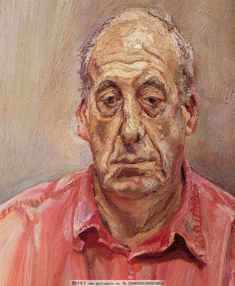 当代油画 佛洛依德 西方 当代 油画 人物 写生 名画 文化艺术 绘画