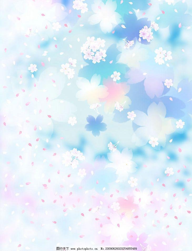 花瓣底纹 浪漫 花卉 底纹边框 背景底纹图片