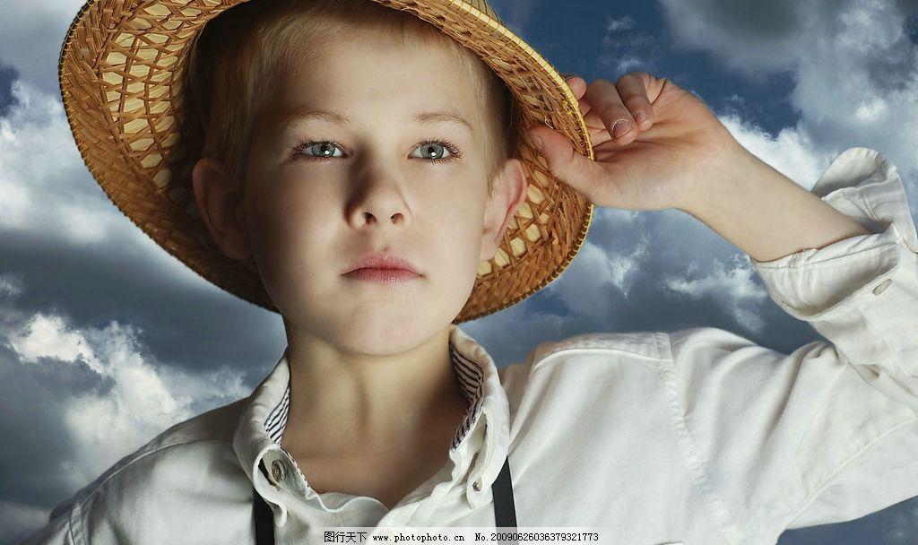 男孩 外国小男孩 头像 正面 人物图库 人物摄影 摄影图库