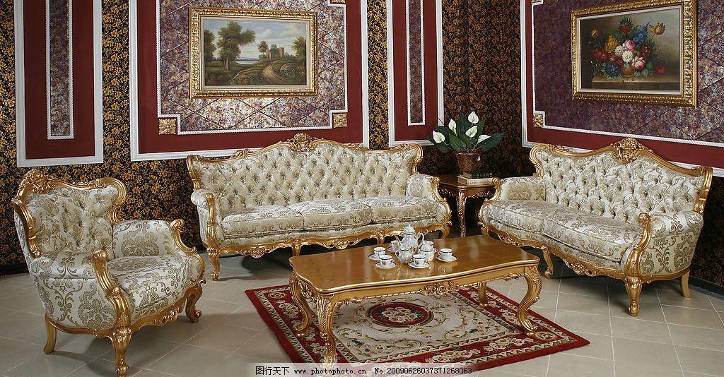 古典 艺术 欧式 家具 装修图片