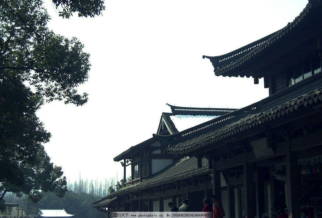 杭州西湖一角图片