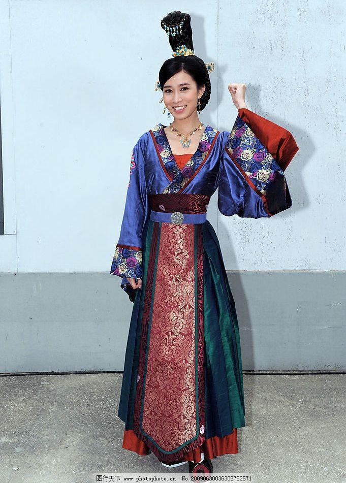 余诗曼 美女 明星 演员 香港明星 高清写真 古装剧照 人物图库